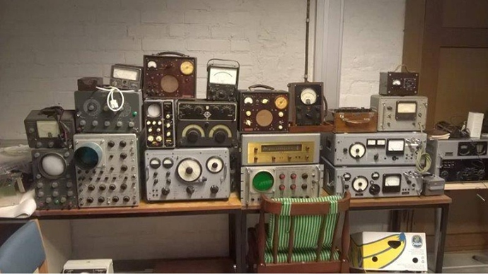 Radiokalustoa