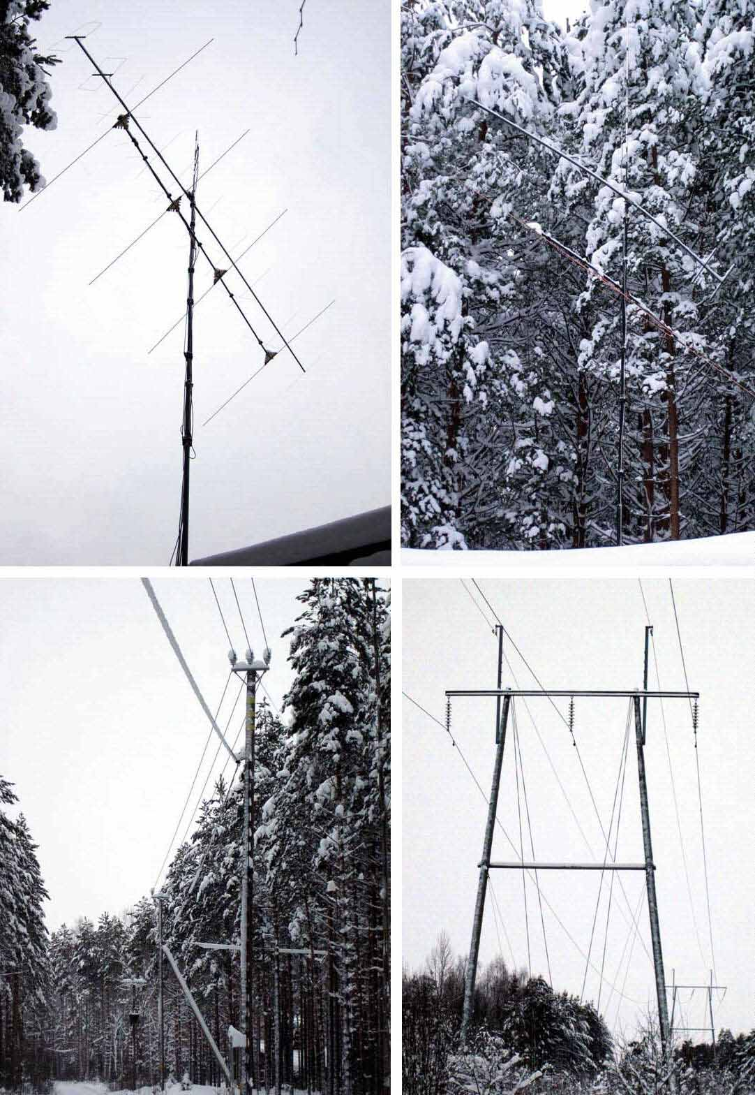 2012-01-23 OH7HJ aerials and obstacles - Low kV lines to west and high kV lines to south and hilly terrain to east.jpg