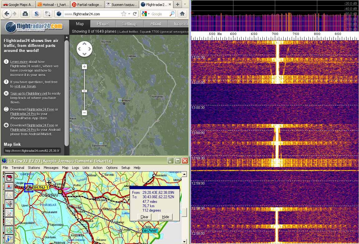 2011-12-23 Echo01- Doppler of unknown airborne object without ADS-B transponder - (c) OH7HJ.jpg