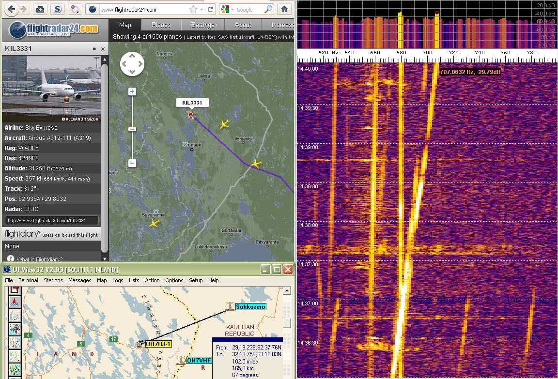 2011-12-27 49750-16 KIL3331 departing to NW - 6 m with a 160 m loop aerial (c) OH7HJ.jpg