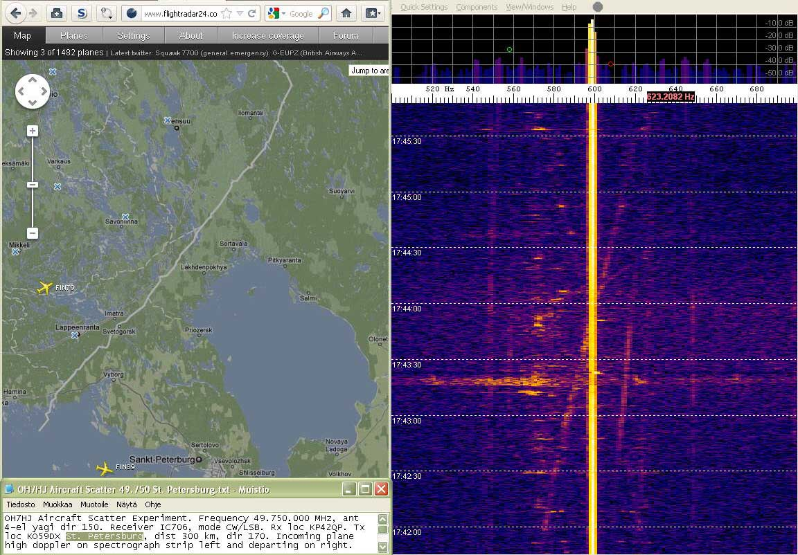 2012-02-05 49750-15 Fincomm took off and climbing - Its doppler bypass visible at ts 174020 (c) - Fincomm not visible on flightradar24 OH7HJ.JPG